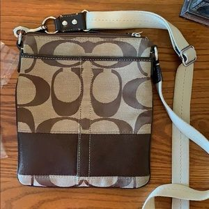 Coach brown crossbody
